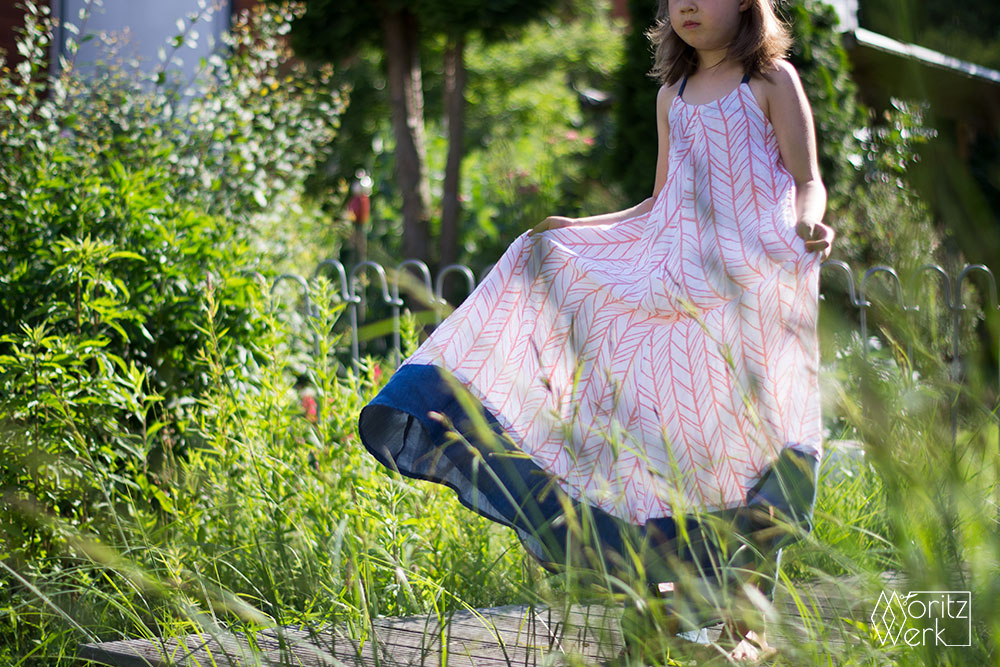 Cascade Maxi Dress by Chalk and Notch | Näh-Connection & Moritzwerk