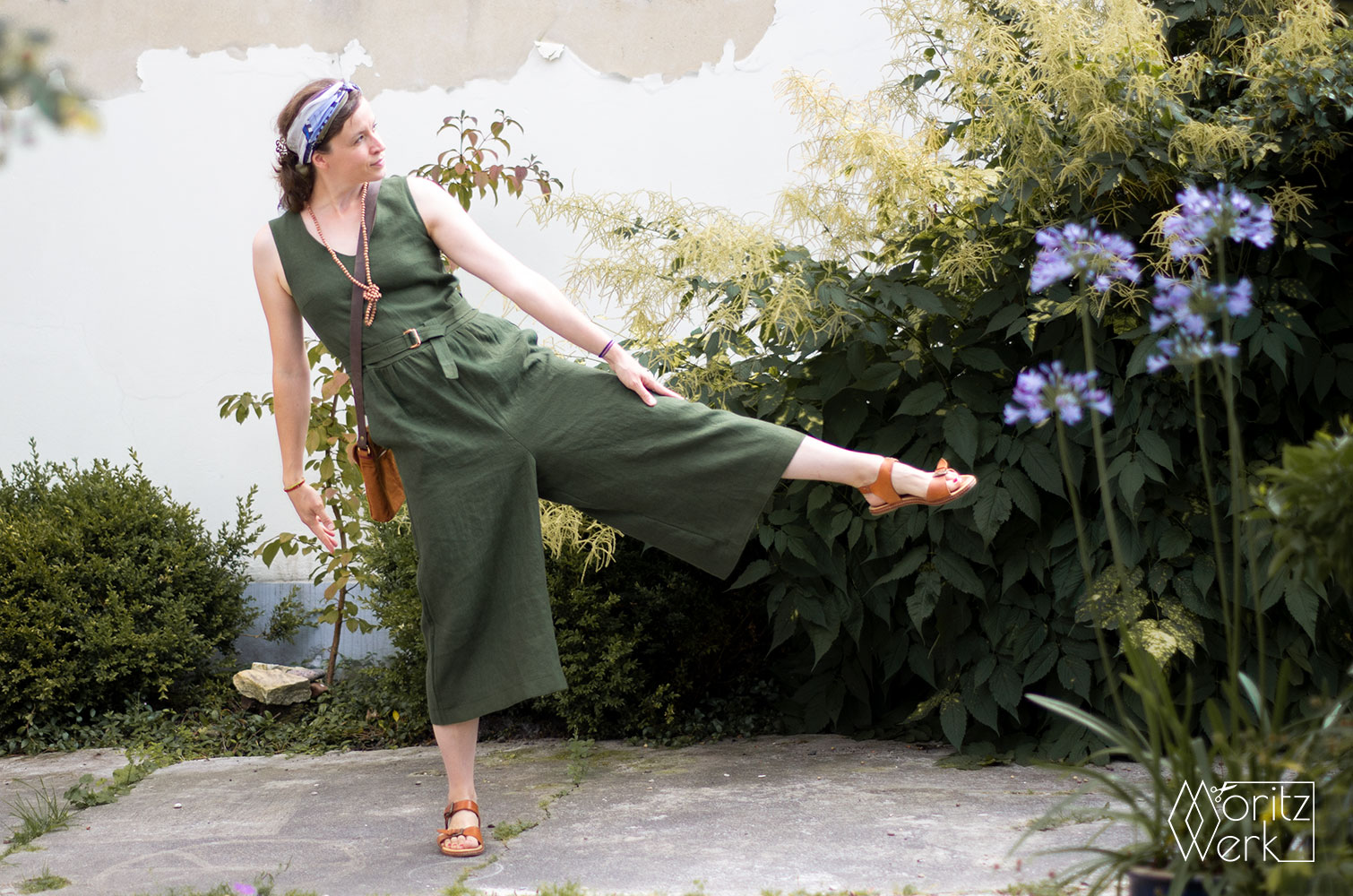 Jumpsuit Jazz von Ready to Sew - Upcycling / Refashioning